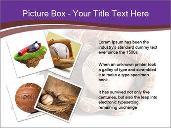 Baseball glove PowerPoint Template - Slide 23