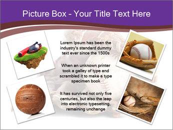 Baseball glove PowerPoint Template - Slide 24