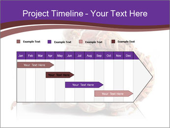 Baseball glove PowerPoint Template - Slide 25