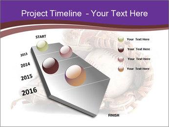 Baseball glove PowerPoint Template - Slide 26