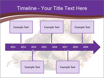 Baseball glove PowerPoint Template - Slide 28