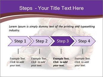 Baseball glove PowerPoint Template - Slide 4