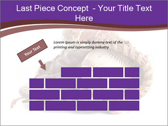 Baseball glove PowerPoint Template - Slide 46