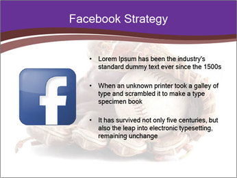 Baseball glove PowerPoint Template - Slide 6