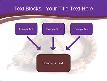 Baseball glove PowerPoint Template - Slide 70