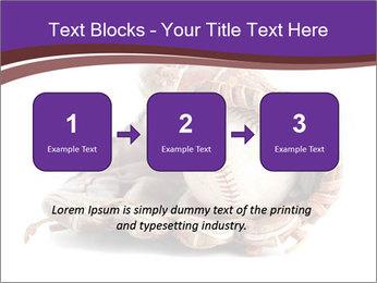 Baseball glove PowerPoint Template - Slide 71