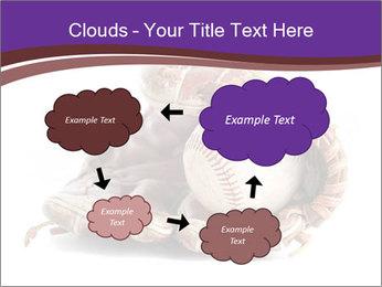 Baseball glove PowerPoint Template - Slide 72