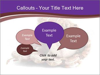 Baseball glove PowerPoint Template - Slide 73