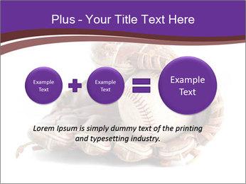 Baseball glove PowerPoint Template - Slide 75