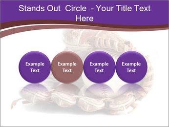 Baseball glove PowerPoint Template - Slide 76