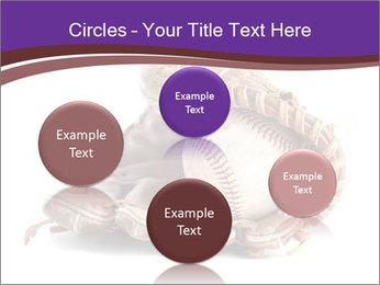 Baseball glove PowerPoint Template - Slide 77