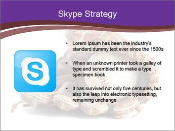 Baseball glove PowerPoint Template - Slide 8