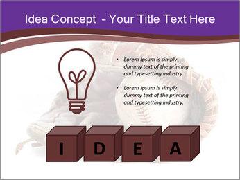 Baseball glove PowerPoint Template - Slide 80