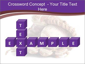 Baseball glove PowerPoint Template - Slide 82