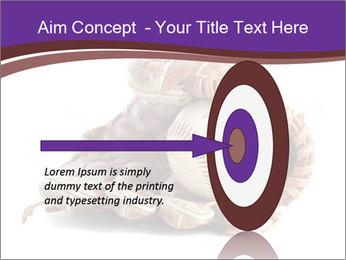 Baseball glove PowerPoint Template - Slide 83