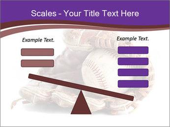 Baseball glove PowerPoint Template - Slide 89