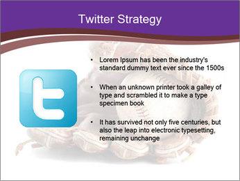 Baseball glove PowerPoint Template - Slide 9