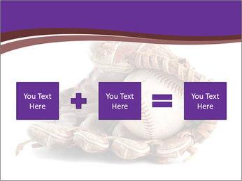 Baseball glove PowerPoint Template - Slide 95