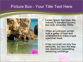 Sandstone cliffs PowerPoint Template - Slide 13