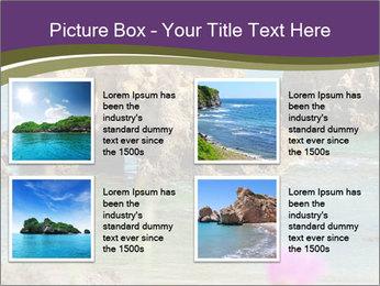 Sandstone cliffs PowerPoint Template - Slide 14