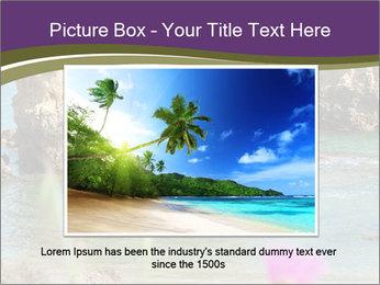 Sandstone cliffs PowerPoint Template - Slide 15