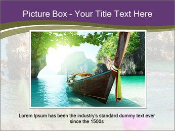 Sandstone cliffs PowerPoint Template - Slide 16