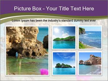 Sandstone cliffs PowerPoint Template - Slide 19