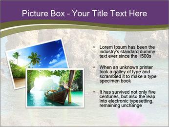 Sandstone cliffs PowerPoint Template - Slide 20