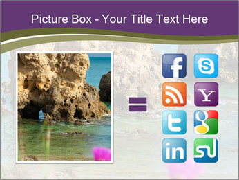 Sandstone cliffs PowerPoint Template - Slide 21