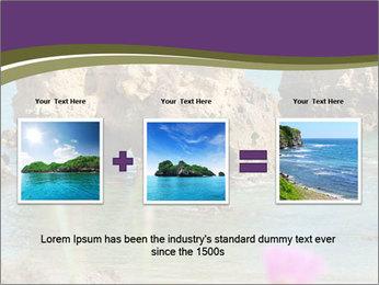 Sandstone cliffs PowerPoint Template - Slide 22