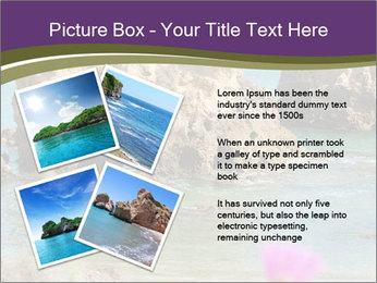 Sandstone cliffs PowerPoint Template - Slide 23