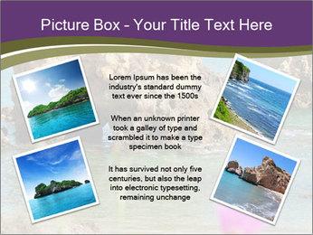 Sandstone cliffs PowerPoint Template - Slide 24
