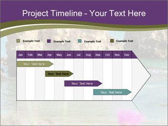 Sandstone cliffs PowerPoint Template - Slide 25