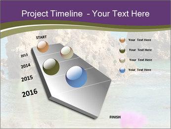 Sandstone cliffs PowerPoint Template - Slide 26