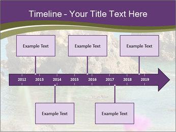 Sandstone cliffs PowerPoint Template - Slide 28