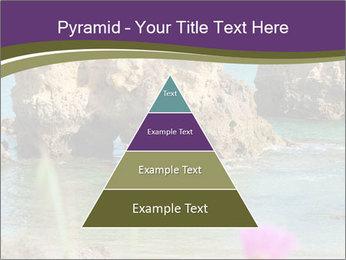 Sandstone cliffs PowerPoint Template - Slide 30
