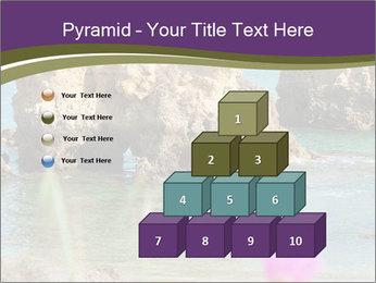 Sandstone cliffs PowerPoint Template - Slide 31