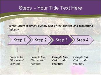 Sandstone cliffs PowerPoint Template - Slide 4
