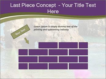 Sandstone cliffs PowerPoint Template - Slide 46