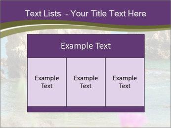 Sandstone cliffs PowerPoint Template - Slide 59