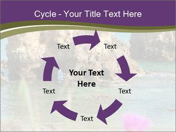 Sandstone cliffs PowerPoint Template - Slide 62