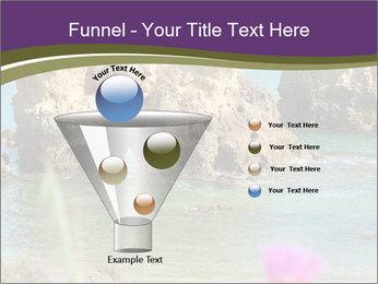 Sandstone cliffs PowerPoint Template - Slide 63