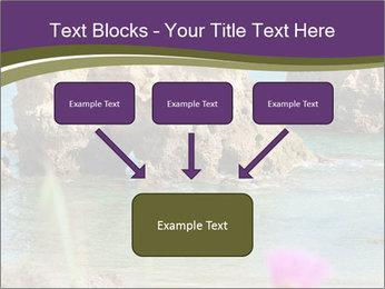 Sandstone cliffs PowerPoint Template - Slide 70