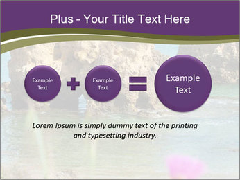 Sandstone cliffs PowerPoint Template - Slide 75