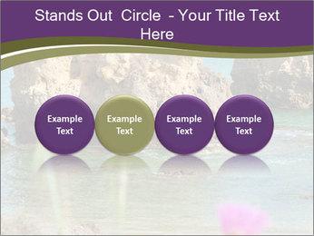 Sandstone cliffs PowerPoint Template - Slide 76