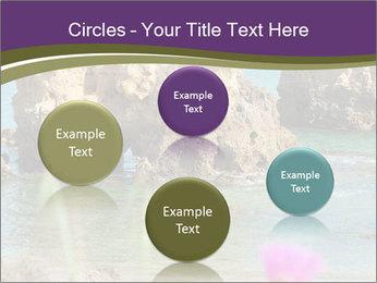 Sandstone cliffs PowerPoint Template - Slide 77