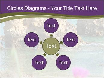 Sandstone cliffs PowerPoint Template - Slide 78