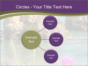 Sandstone cliffs PowerPoint Template - Slide 79