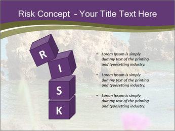 Sandstone cliffs PowerPoint Template - Slide 81