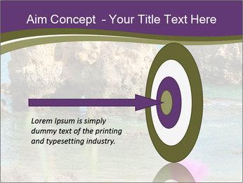 Sandstone cliffs PowerPoint Template - Slide 83